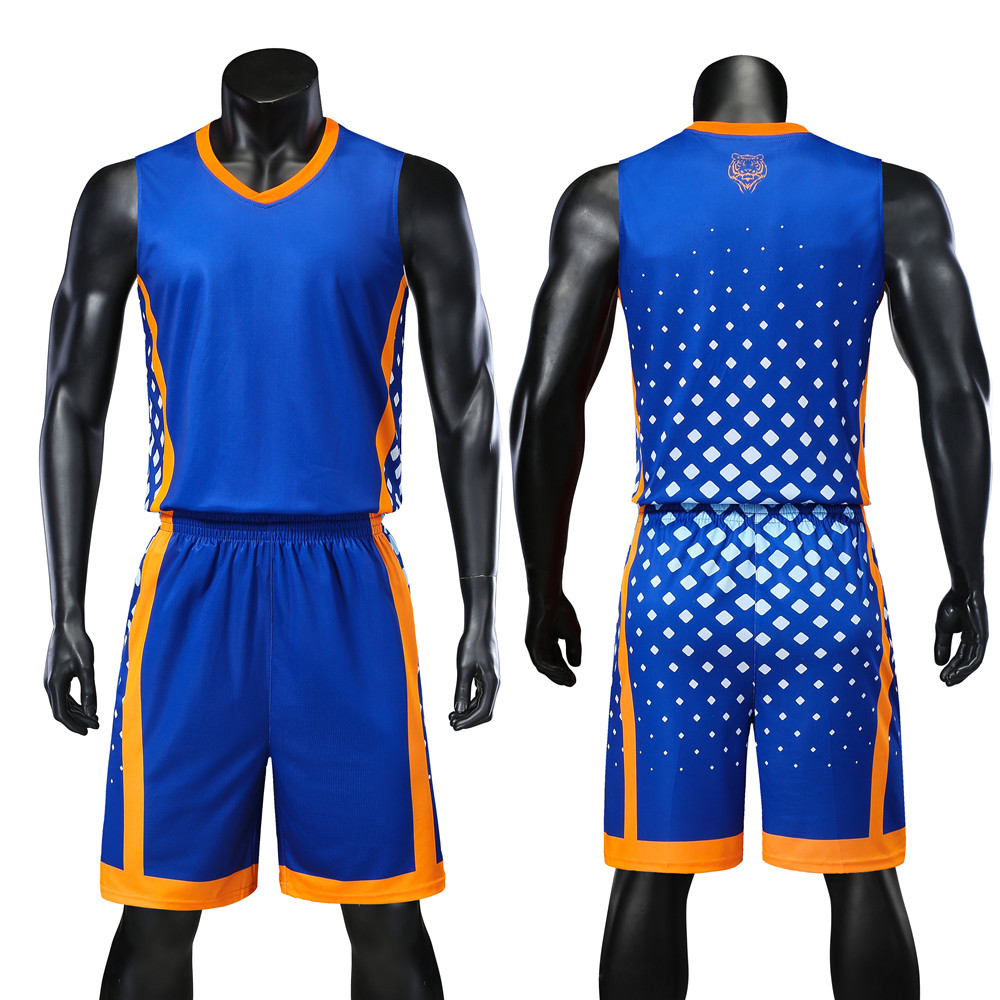 371f46afe802 Shorts Suits Personality Reversible Men Basketball Jerseys Sets Team  Uniforms Sports