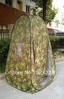 Otomatik Pop up duş hareketli tuvalet kamuflaj fotoğraf izlerken kuş değişim giysi odası açık kamp çadır toptan