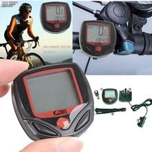 Fashin Открытый продукт водонепроницаемый велосипед Цикл ЖК-дисплей цифровой компьютер Спидометр Одометр 20