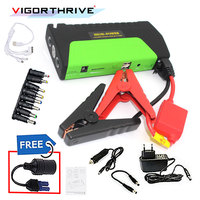 Battery Charger For Petrol Car booster Car Jump Starter   Emergency Auto Booster Green 12V  600A Mini Portable
