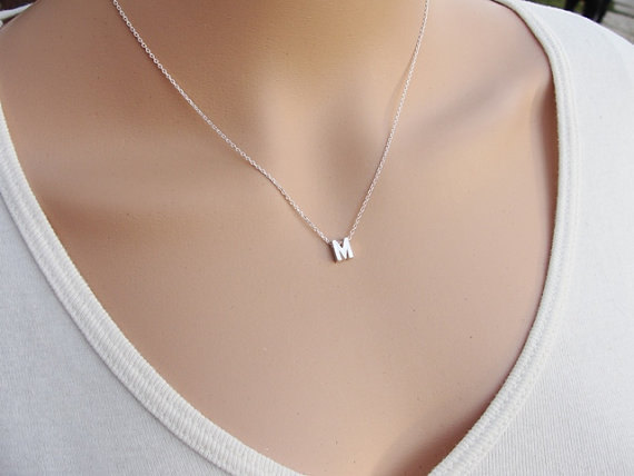 Custom Select Letters Personalized Initial Name Necklace Couple Pendant Charm Jewelry for Women Fashion Love Gift