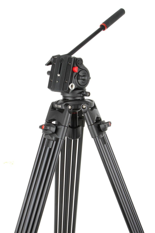 Viltrox VX-18M 1.8M Trípode de video de aluminio antideslizante, - Cámara y foto - foto 3