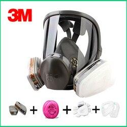Original 3M 6800 máscara de gas respirador de protección de marca máscara respiradora contra el gas orgánico