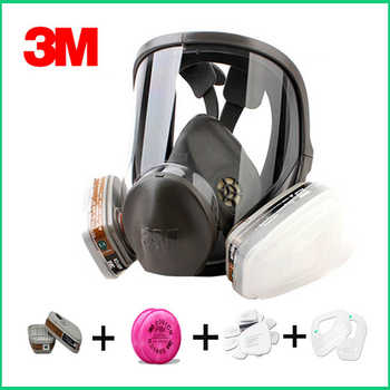 Original 3M 6800 respirator gas mask Brand protection respirator mask against Organic gas - DISCOUNT ITEM  14% OFF All Category