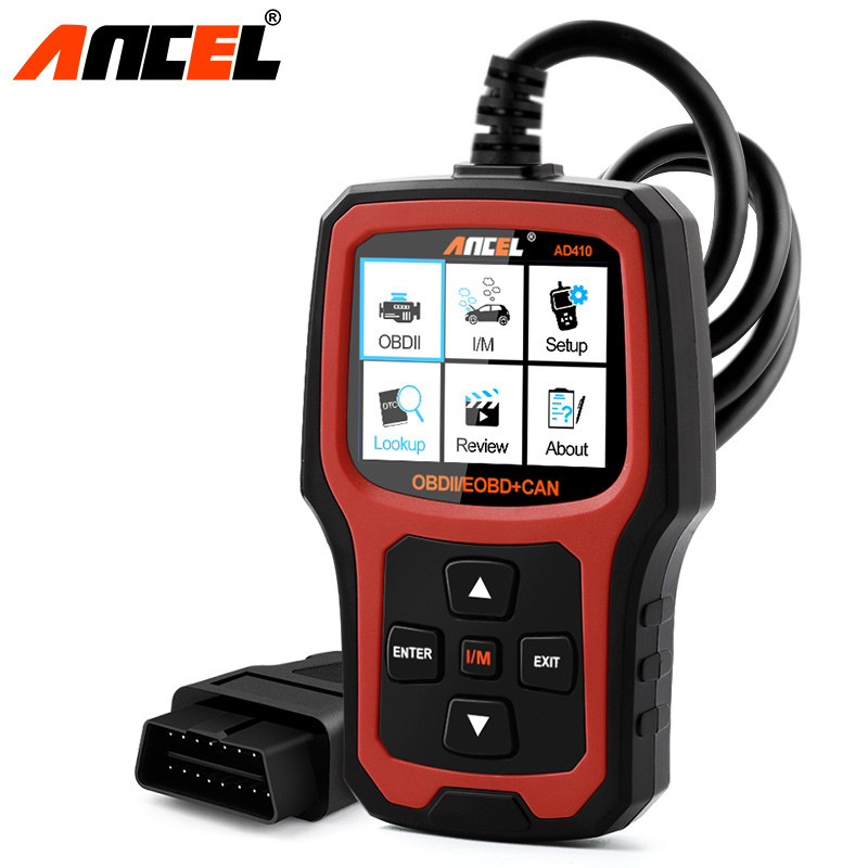 obd2 automotive scanner ancel ad410 diagnostic scanners with russian obd 2 obd eobd erase fault. Black Bedroom Furniture Sets. Home Design Ideas