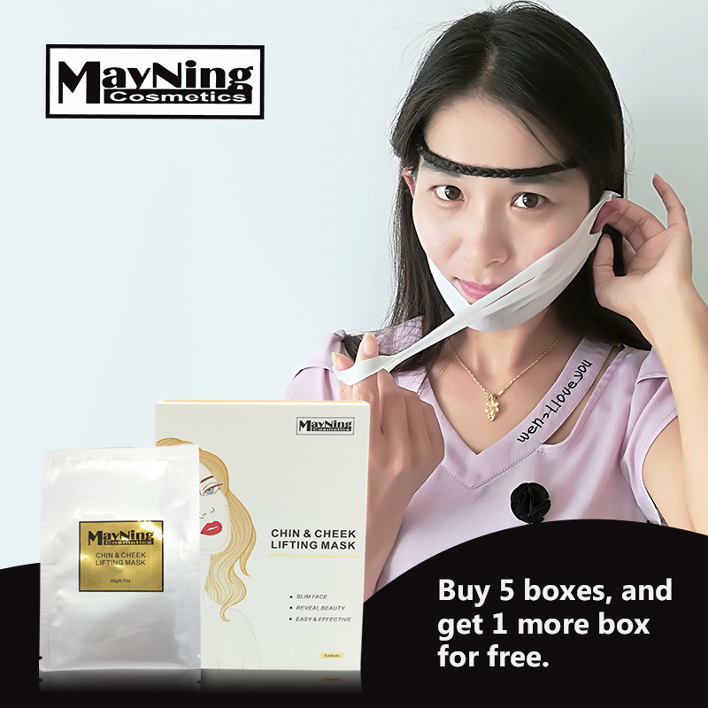 Lifting Face Mask 5pcs/box  Slim Face in V Shape, Create the Perfect Face Lift and Neck Lift-in Treatments & Masks from Beauty & Health    1