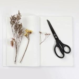Image 5 - Huohou チタンメッキはさみ黒セット紙切断はさみミシン糸防錆剪定はさみ葉トリマーツールキット
