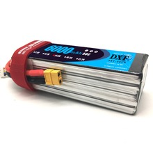 DXF Lipo 14.8V 6000mAh 50C Burst 100C 4S Lipo Li-Polymer Battery Bateria AKKU for RC Car Quadcopter Helicopter Airplane dxf good quality lipo battery 14 8v 4s 8000mah 30c 60c rc akku bateria for airplane helicopter boat fpv drone uav