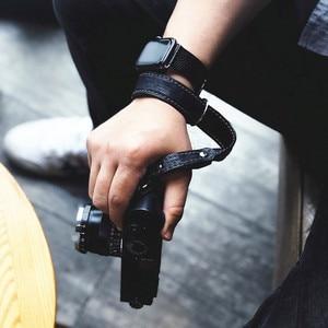 Image 4 - יד עור בעבודת יד מצלמה ליקה Fuji Sony אולימפוס Canon ניקון ראי מצלמה