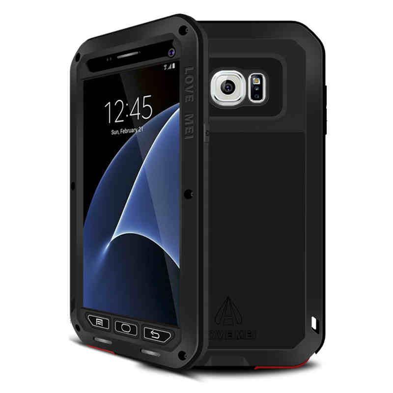imágenes para S7 Amor Mei Caso Armor Cubierta Impermeable para Samsung Galaxy Fundas S7 G9300 Shell Vivienda Agua/Tierra/Shock prueba A Prueba de Lluvia Capa