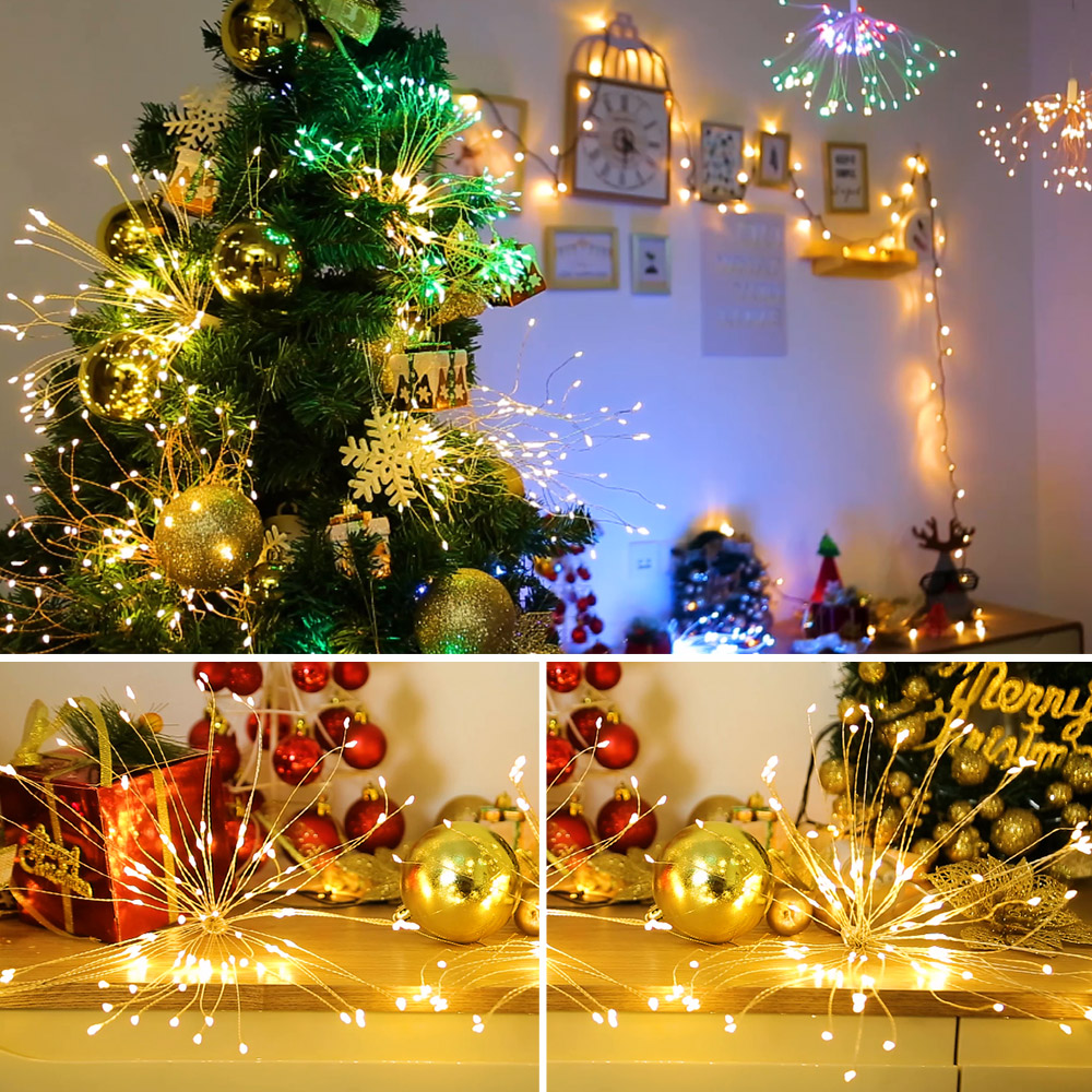 Diy Led Fairy String Light 150leds Battery Operated