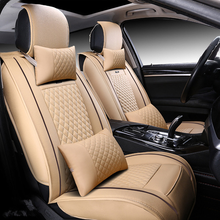 universal fit car seat covers Seat Cushion Wear Sets For car model Toyota Ford BMW Audi Honda Nissan PU leather seat covers