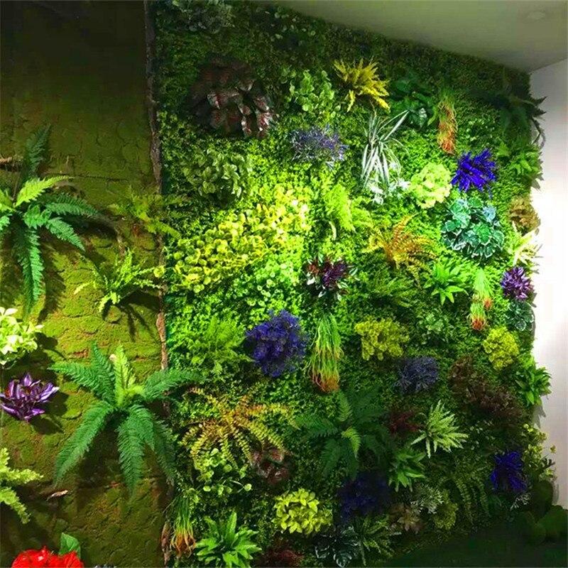 10pcs Lot 40x60cm Artificial Green Grass Wall Background