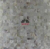Shell Mosaic Tile Kitchen Bathroom Bedroom Floor Wall Mosaics Tiles Decor Home Improvement Natural White Color