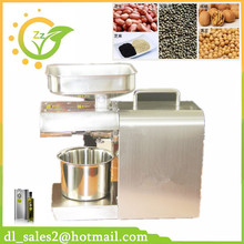 High quality automatic oil press machine 110V or 240V for choose 12 hours keeping working family type