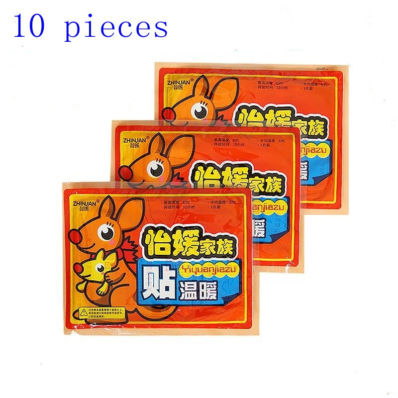 10 pieces Pack hot paste Body Warmer Sticker Lasting Heat Patch Winter Keep Body Warm Paste