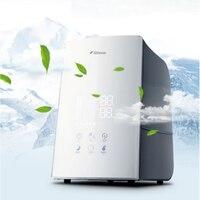 Anion Air Humidifier Car Home Touch Control Air Purifier LCD Display humidificador Machine Oxygen Bar Household DEM F748