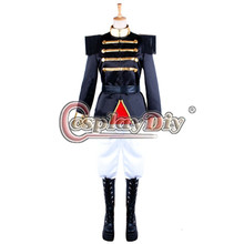 Cosplaydiy The Nutcracker Puppet Stage Cosplay Costume Imperial Guard Uniform Military Suit Outfit Custom Made