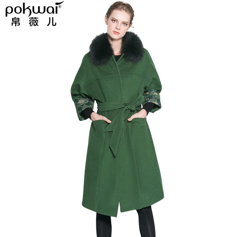 Free shipping and returns on Women's Green Wool & Wool-Blend Coats at trickytrydown2.tk