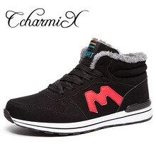 Ccharmix Для мужчин S ковбойские ботинки зимние теплые круглый носок Для мужчин ботильоны ботинки из замши Повседневное Для мужчин S зимние обувь Для мужчин S Обувь большой размеры