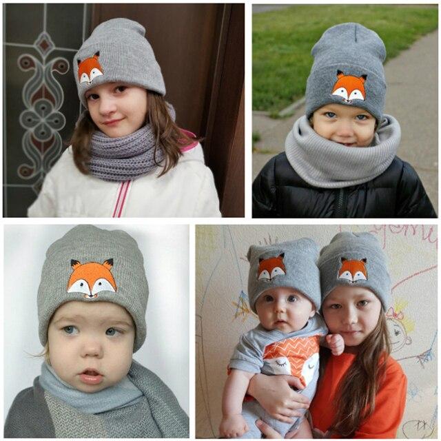 REAKIDS 2019 Brand Baby Cotton Hats For Boy Girls Children Winter Warm Hat Baby Beanies Infant Toddler Hat Baby Boys Girls Cap 1