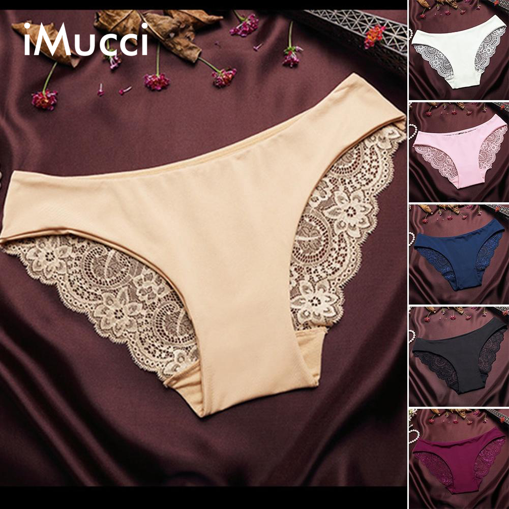 0025b9d171 RE Ladies underwear woman panties fancy lace calcinha renda sexy panties  for women traceless crotch of cotton briefs hot sale