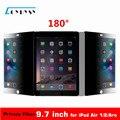 9.7 polegada tablet pc protetor de tela filtro de privacidade de 180 graus para ipad air 1/ipad air 2/aro 165mm x 237mm