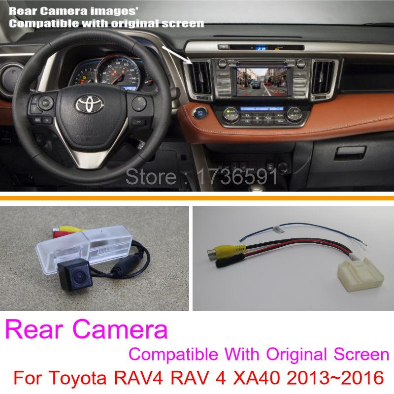 detail feedback questions about lyudmila for toyota rav4 rav 4 xa40detail feedback questions about lyudmila for toyota rav4 rav 4 xa40 2013~2016 rca \u0026 original screen compatible car rear view camera sets hd reverse