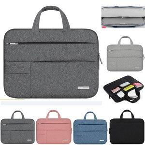 Image 2 - 11 12 13 14 15.4 15.6 Man Felt Notebook Laptop Sleeve Bag Pouch Case For Acer Dell HP Asus Lenovo Macbook Pro Reitina Air Xiaomi