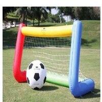Надувной футбольный мяч ворота Открытый футбольные ворота использовать для бампера мяч Зорб мяч открытый игрушки маленький размер 2*1,5 м