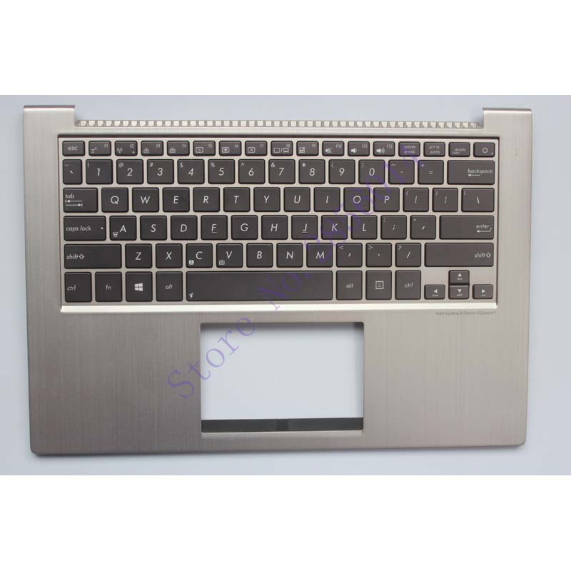 NEW English Laptop Keyboard For ASUS UX32 UX32A UX32E UX32V BX32 UX32VD US keyboard Palmrest With backlight