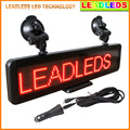16*64 Dots Moving Message Display Programmable LED SIGN Board for Car Advertising