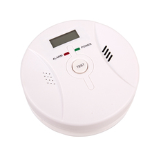 цена на 2 in 1 Carbon Monoxide&Smoke Alarm Smoke Fire Sensor Alarm CO Carbon Monoxide Detector Sound Combo Sensor Tester