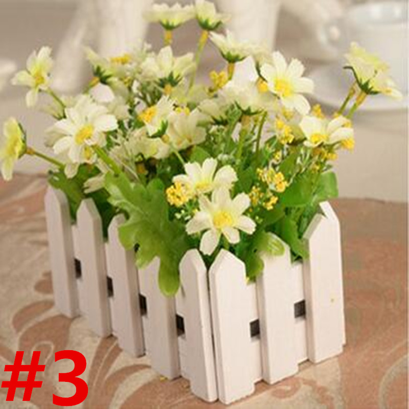 Aliexpress Buy 1 X Artificial Flowers Fake Rose In Picket