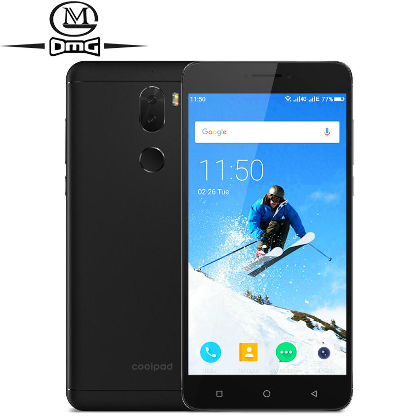 Cellphones & Telecommunications Original Coolpad Cool Play 6 Play Msm8976sg Octa Core Smartphone 6gb+64gb 4g Lte 5.5 1920*1080p 13.0mp 4060mah Fingerprint Mobile Phone Making Things Convenient For The People