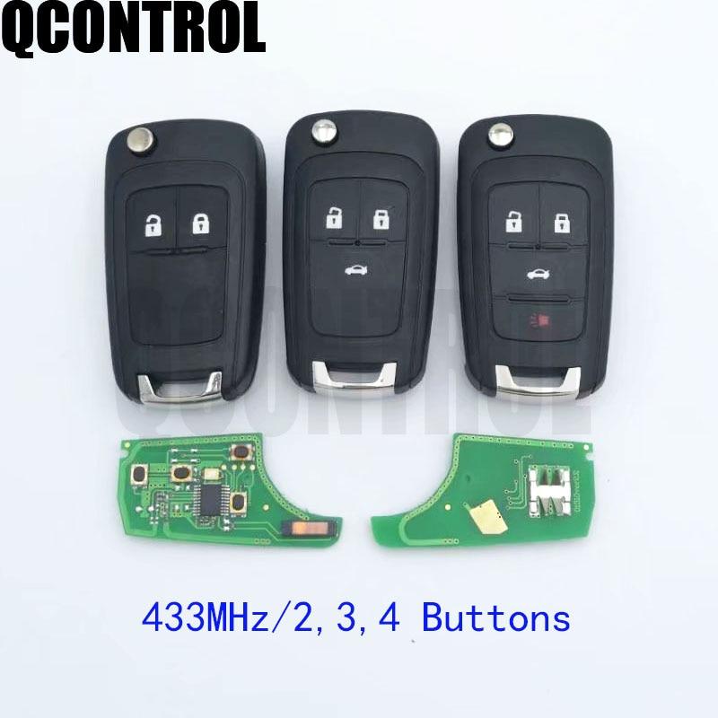 13574865 Opel Astra J//Insignia remote key 2 buttons VALEO or U-SHIN 433MHz