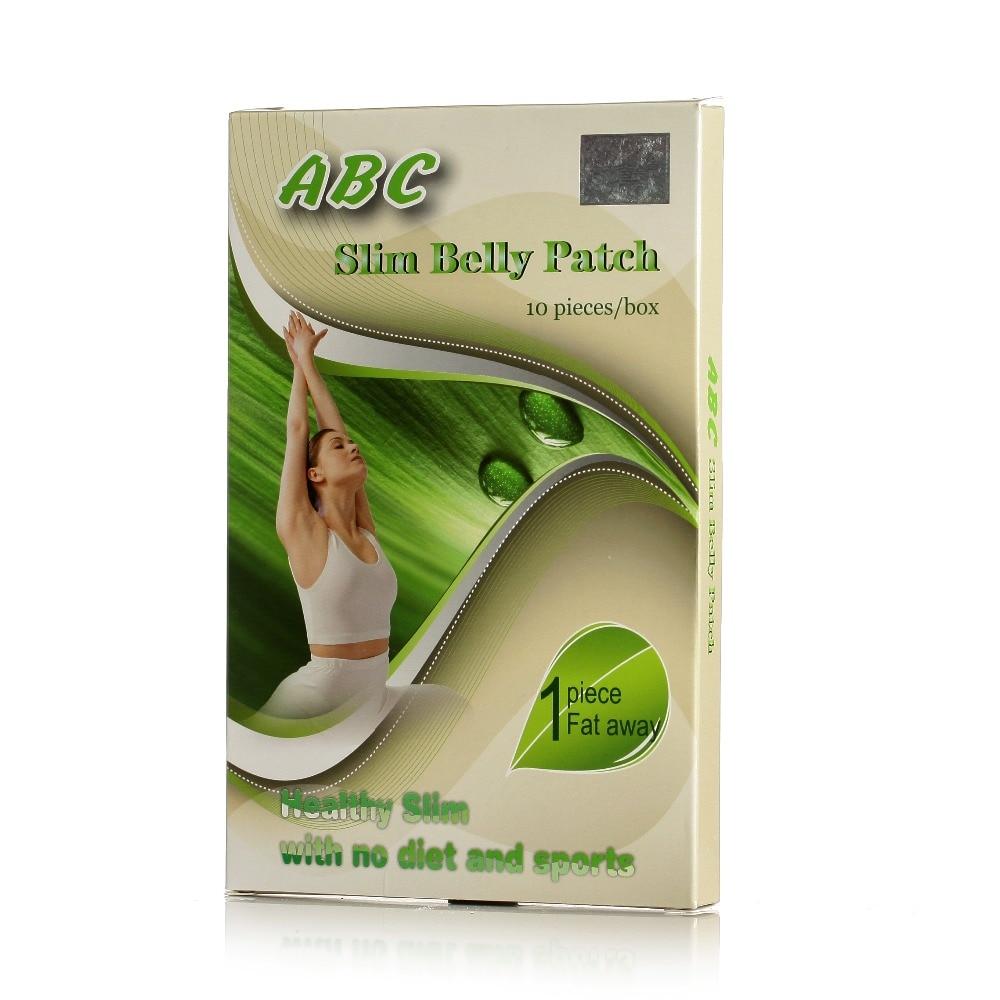 3 kasser, gratis forsendelse vægttab slankende abc slank mave patch