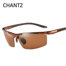 Ретро Поляризованные Солнцезащитные очки Мужские спортивные очки алюминиевая магниевая оправа Очки для вождения UV400 Lunette De Soleil Homme