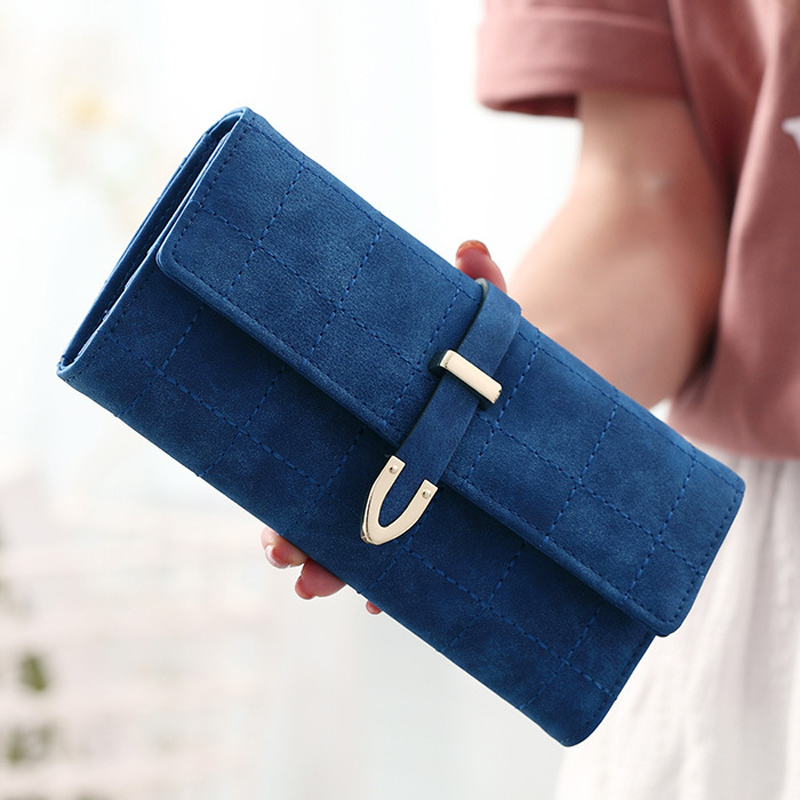 2018 New Women Wallets Female Leather Purses Large Capacity Coin Card Holders Fashion Ladies Wallet Clutch Long Design Carteras 5