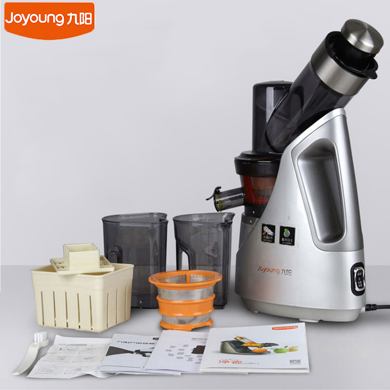 купить Joyoung Original Juice Maker 81mm Large Caliber Cut Free Juice Machine 220V Multi-functional Fruit Vegetable Juicer недорого