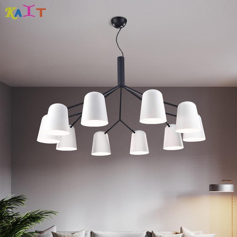 KAIT Led nordic E27 mondern chandeliers ceiling luminaire 110V 220v modern dining chandelier lightingKAIT Led nordic E27 mondern chandeliers ceiling luminaire 110V 220v modern dining chandelier lighting