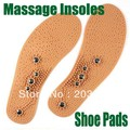 Clean Health Foot Magnetic Therapy Thener Massage Insoles Shoe Comfort Pads,Foot Pad Unisex, Cut Off As You Wanted