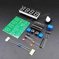 c51 4 bits electronic clock C51 production suite DIY electronics Kits free shipping 1pcs