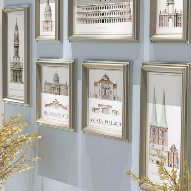Tienda Online 9 unids/set foto marco de la pared, Porta Retrato ...