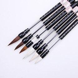 1 stück Kolben Wasser Pinsel Chinesische Japanische Kalligraphie Stift Pinsel Zeichnung Kunst Liefert