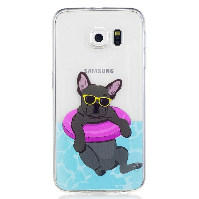 Samsung S6 Silicone Back Cover 1