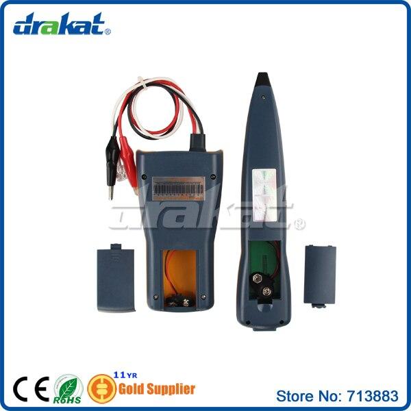 Traqueur de fil de testeur de câble réseau Lan - 6