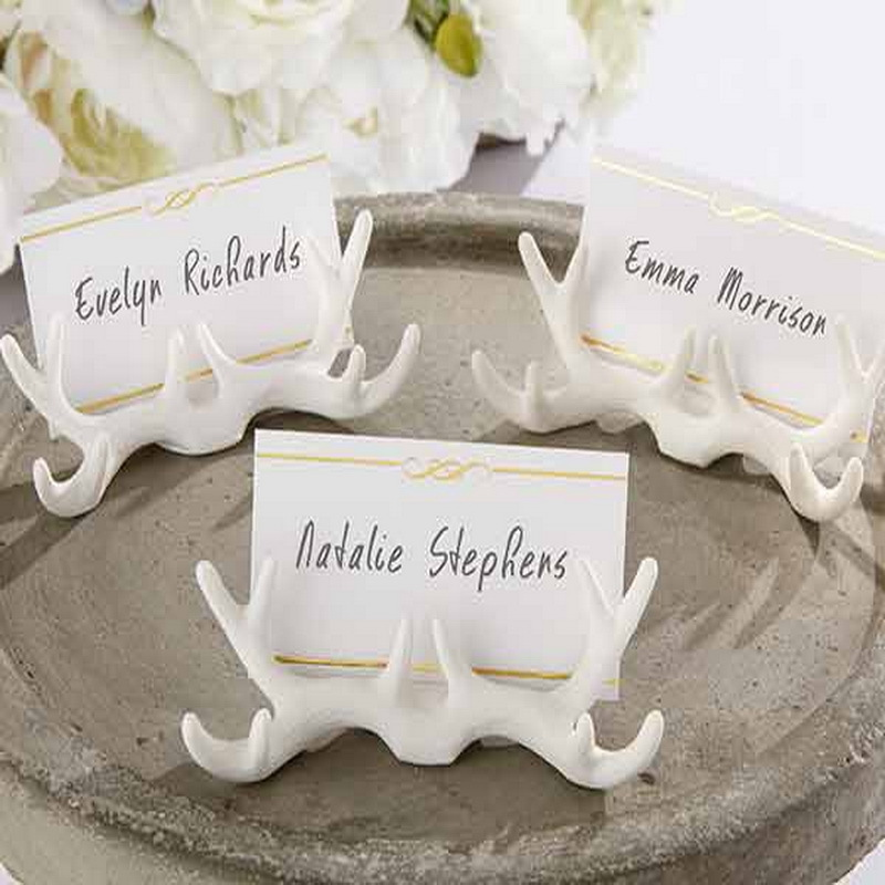 48PCS-lOT-2015-NEW-ARRIVAL-White-Resin-Antler-Place-Card-Holder-With-Wedding-Decoration-Place-Cards.jpg