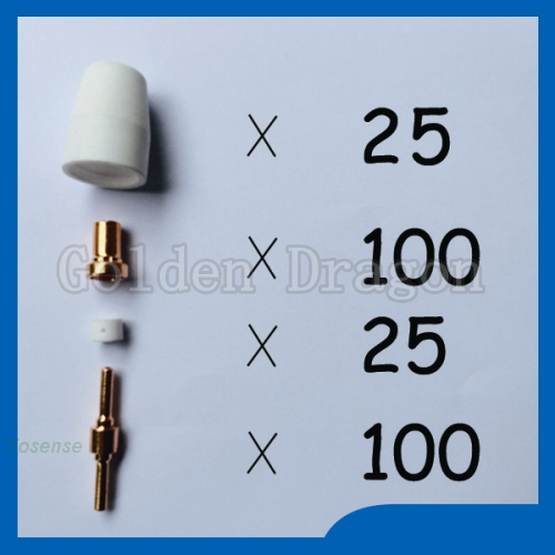 Free shipping PT31 LG40 Plasma Cutter Consumables cnc Welding Tips Torch Consumables Extended KIT Reasonable price  цены