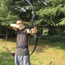 """50 """"35 / 40kg Taktown Recurve Bow Tradiční rovný tah luk Longbow Love Target Shooting Lukostřelba Střelba Praxe"""